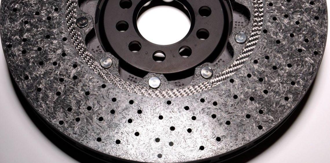 Bremsscheiben aus Keramik.