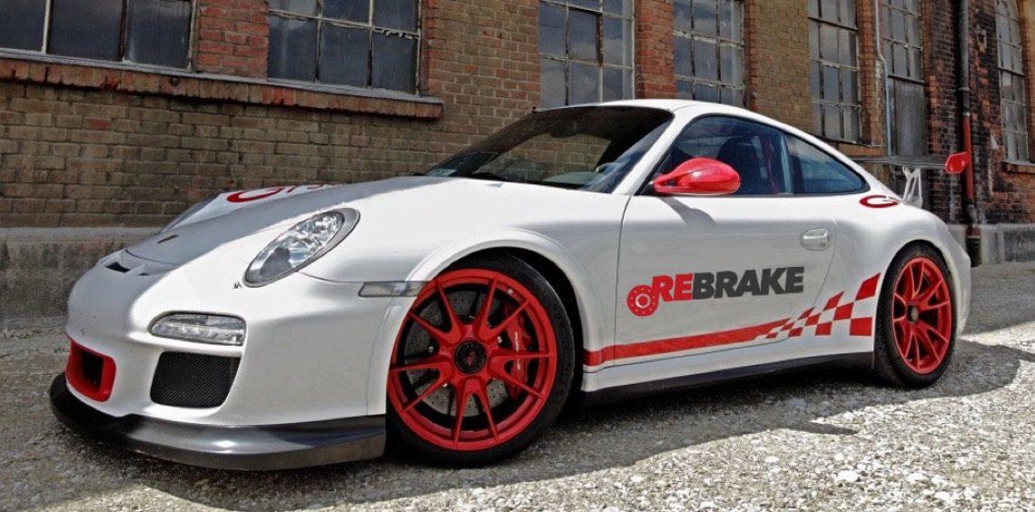 Carbon ceramic brakes.